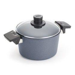 Garnek WOLL Diamond 20 cm Patelnie grillowe WOLL Cookware  - 2 patelnie do smażenia bez tłuszczu