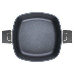 Garnek WOLL Diamond kwadratowy 22 x 22 cm Patelnie grillowe WOLL Cookware  - 2 patelnie do smażenia bez tłuszczu