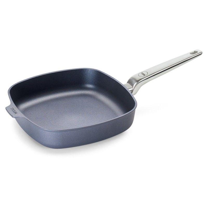 Patelnia WOLL Diamond PRO kwadratowa 26 x 26 cm Patelnie grillowe WOLL Cookware  - 1 patelnie do smażenia bez tłuszczu