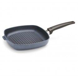 Patelnia WOLL Saphire grillowa 28 x 28 cm Patelnie grillowe WOLL Cookware  - 3 patelnie do smażenia bez tłuszczu