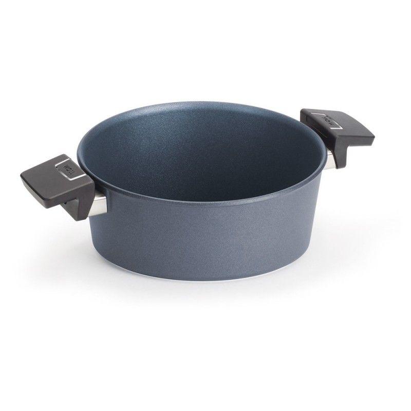 Garnek WOLL Saphire niski 24 cm Patelnie grillowe WOLL Cookware  - 1 patelnie do smażenia bez tłuszczu
