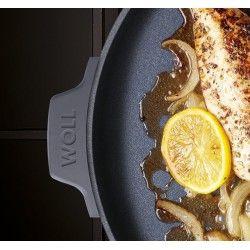 Osłona WOLL Cook It! kwadratowa Patelnie grillowe  - 2 patelnie do smażenia bez tłuszczu