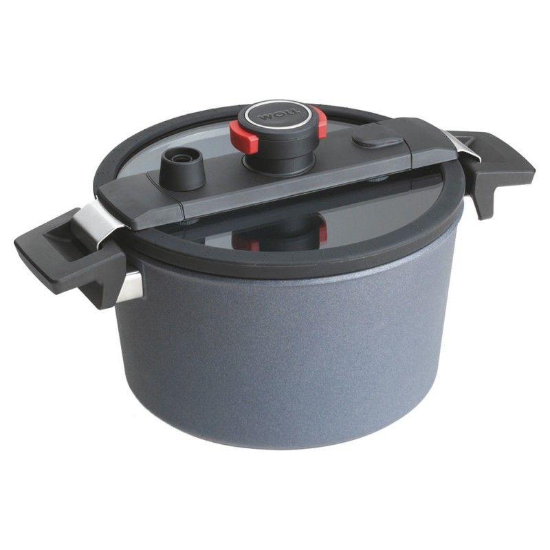 Garnek WOLL Diamond ACTIVE 24 cm Patelnie grillowe WOLL Cookware  - 1 patelnie do smażenia bez tłuszczu