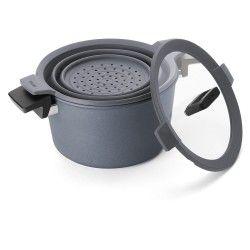 GARNEK WOLL DIAMOND Concpet+ 24 CM Patelnie grillowe WOLL Cookware  - 1 patelnie do smażenia bez tłuszczu