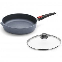 Patelnia WOLL Diamond głęboka 32 cm Patelnie grillowe WOLL Cookware  - 2 patelnie do smażenia bez tłuszczu