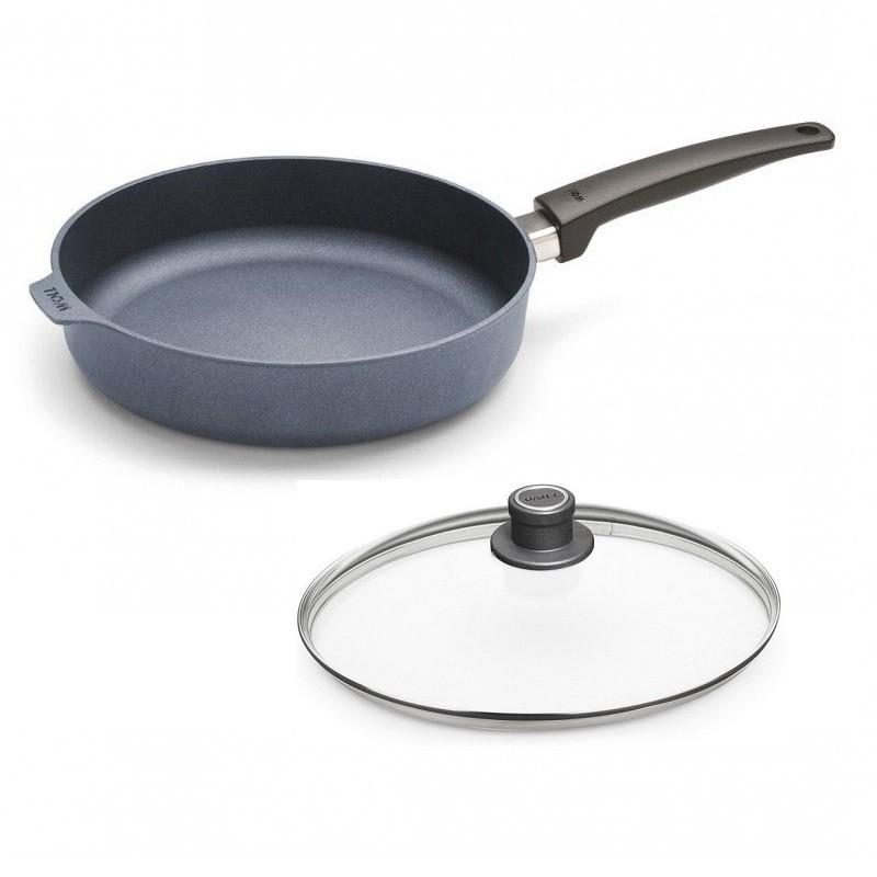 Patelnia WOLL Saphire głęboka 32 cm Patelnie grillowe WOLL Cookware  - 1 patelnie do smażenia bez tłuszczu