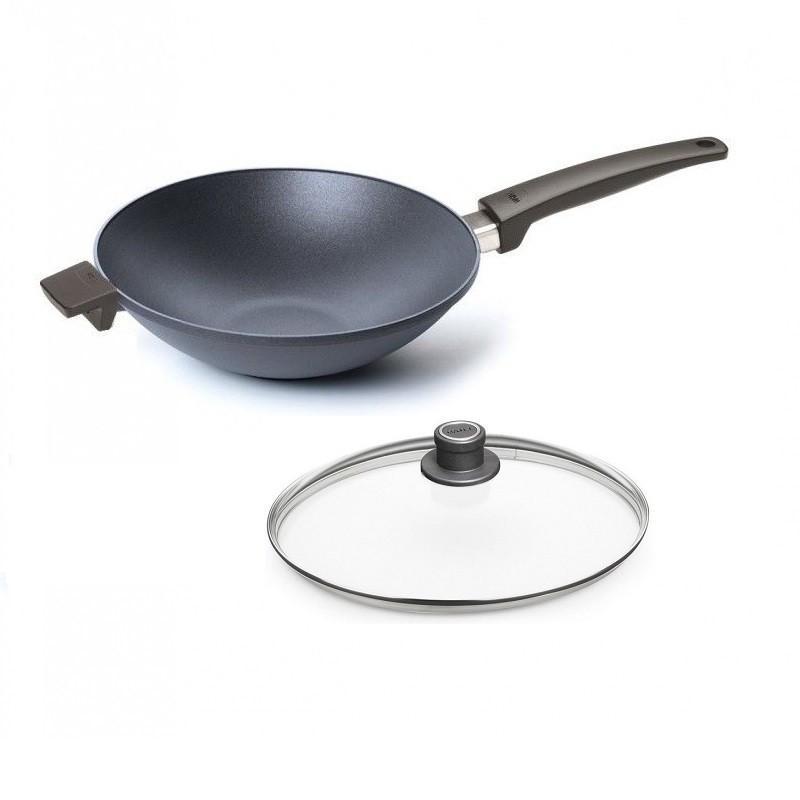 Wok WOLL Saphire 34 cm Patelnie grillowe WOLL Cookware  - 1 patelnie do smażenia bez tłuszczu