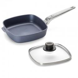 Patelnia WOLL Diamond PRO kwadratowa 22 x 22 cm Patelnie grillowe WOLL Cookware  - 1 patelnie do smażenia bez tłuszczu