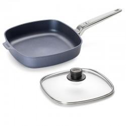 Patelnia WOLL Diamod PRO kwadratowa 28 x 28 cm Patelnie grillowe WOLL Cookware  - 1 patelnie do smażenia bez tłuszczu