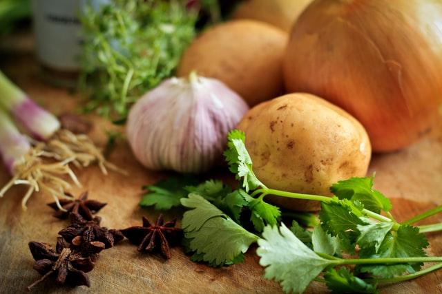 Ziemniaki smażone z cebulą