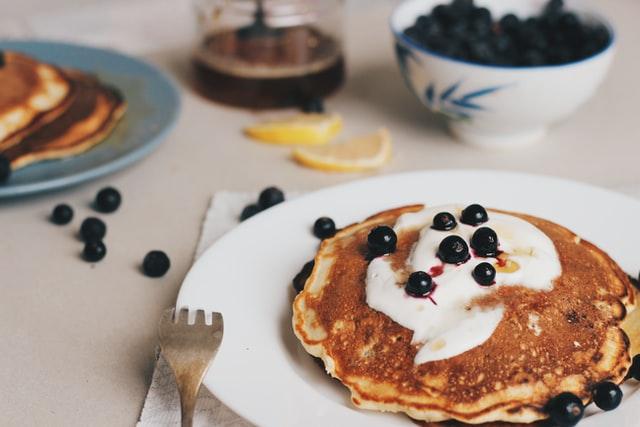 Zdrowe potrawy - fit pancakes